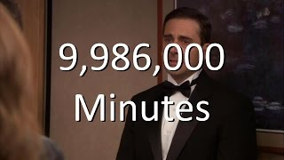 "The Office ""9,986,000 Minutes"""