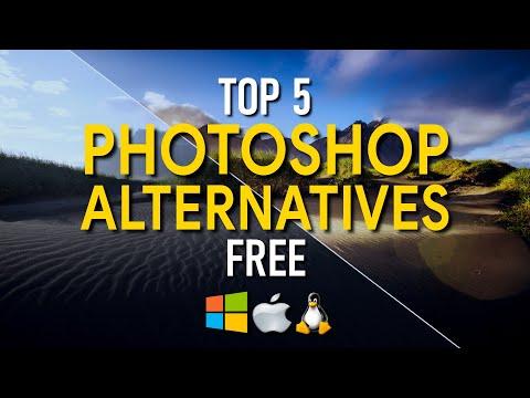 Top 5 Best FREE PHOTOSHOP Alternatives