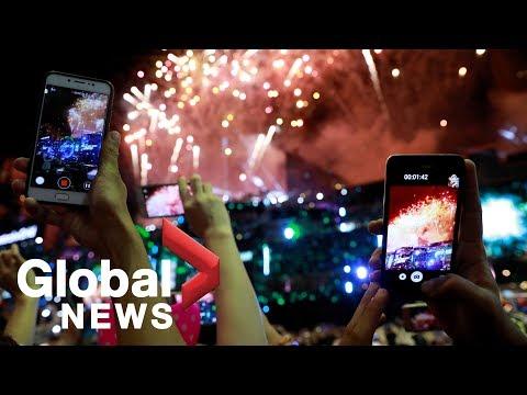 New Year's 2019: Firework celebrations around the world