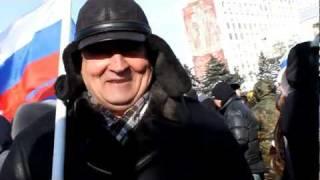 За Путина! За Сталина! За Единую Россию! Саратов
