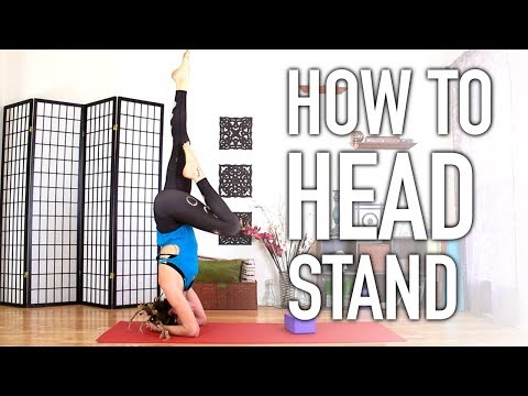 How To Do A Head Stand – Beginners Guide to Yoga Head Stand