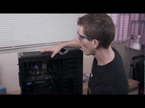 Linus Tech Quickie: Installing the Hydro Series H90 140mm High-Performance Liquid CPU Cooler
