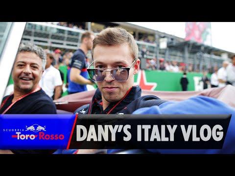 Daniil Kvyat's Italian GP Vlog