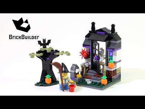 Vidéo LEGO Saisonnier 40122 : Un bonbon ou un sort