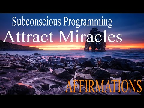 MANIFEST MAGIC & Opportunities   I AM Affirmations While You Sleep   Subliminal Programming Wealth