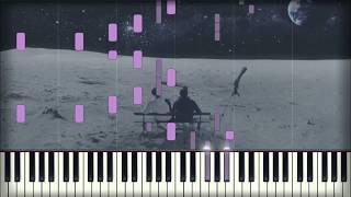 Bigflo & Oli   Sur La Lune | Piano Tutorial | Karaoke
