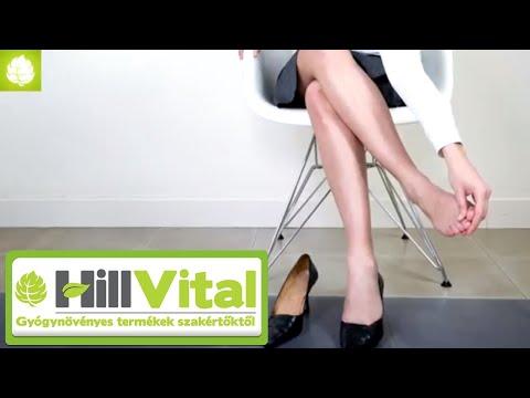 Kapillárisok a lábakon és a visszér