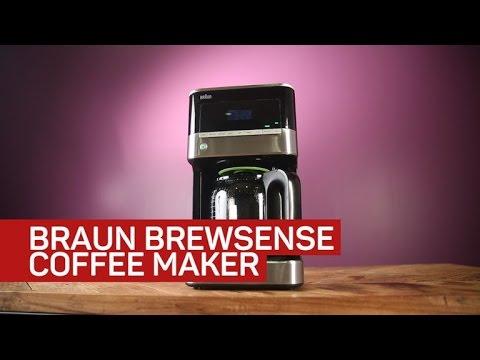 The basic Braun coffee maker brews drip surprisingly well