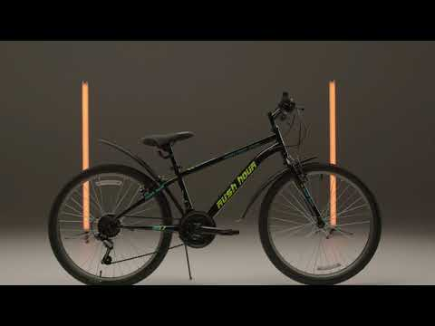 "Велосипед подростковый 24"" 4000 V-brake ST 18ск RUSH HOUR"