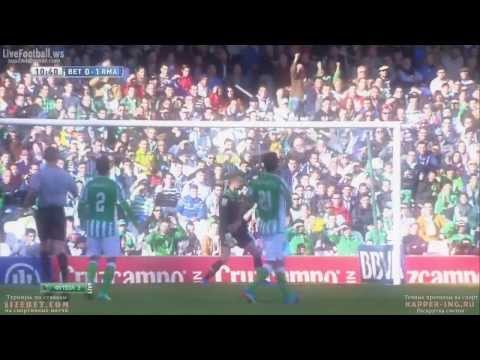 Cristiano Ronaldo Goal vs Real Betis  0-1 HD Amazing 18/01/2014