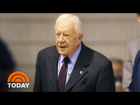 President Jimmy Carter In Hospital For Surgery To Reduce Pressure On His Brain | TODAY