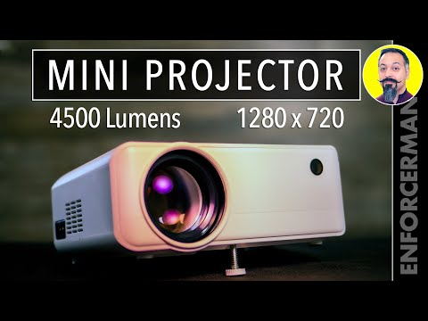 Best Mini Projector under $100? Apeman 4500!