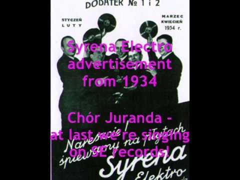 Chór Juranda - Idź, nie wracaj 1932
