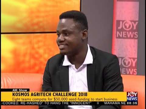 KOSMOS Agritech Challenge 2018 - AM Show on JoyNews (10-10-18)