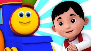 Bob el tren | pequeño Jack Horner | canción para niños | rimas en español