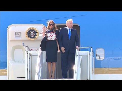 Στη Βρετανία ο Αμερικανός Πρόεδρος Τραμπ για τριήμερη επίσκεψη…