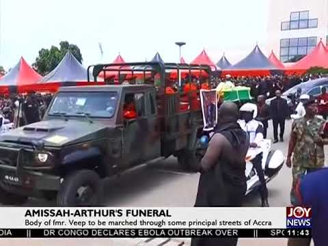 Body Of Former Veep Being Moved to Burial Grounds - JoyNews (27-7-18)