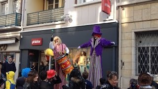 preview picture of video 'Parade du carnaval à Lisieux'