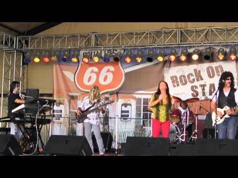 OPEN ARMS JOURNEY TRIBUTE AT SD County Fair 2013 LA DO DA-SOLOS  and  Don't Stop Believing