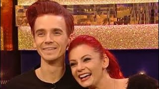 Joe Sugg and Dianne Buswell On the final of It takes two