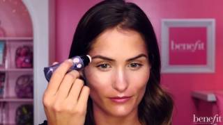 Get your strobe on with this instant beauty tutorial, gorgeous! Watt's up! is perfect for easy, flawless strobing ✨ To get glowing with watt's up!, apply the cream-to-powder soft focus formula directly to the high points of the face & blend with the built-in tool. The champagne shade looks great on everyone & is super easy to blend for flawless highlighting!   watt's up: http://bit.ly/wattsupstrobe  http://www.benefitcosmetics.com  Subscribe for more Tips & Tricks: http://bit.ly/Utd37q