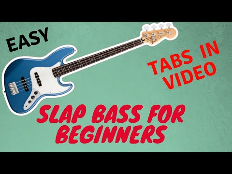 Slap Bass for Beginners [Easy Funk -Tabs at the End] [Na Quinta]