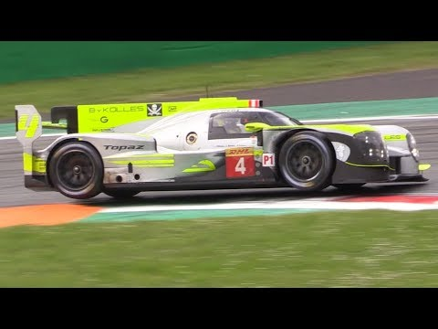 ByKolles ENSO CLM P1/01 LMP1 with the New Gibson V8 Engine Testing at Monza Circuit