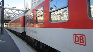 preview picture of video '[Paris Est] City Night Line (CNL) Deutsch Bahn - From Berlin, Hamburg & Munich'