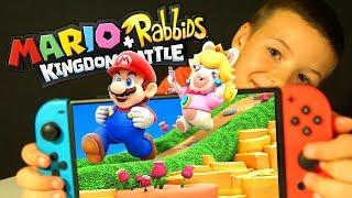 #2 МАРИО и БЕШЕНЫЕ КРОЛИКИ 🐰 Mario + Rabbids Битва За Королевство - Kingdom Battle Nintendo Switch