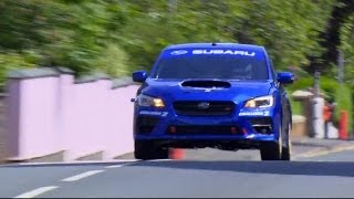 Subaru WRX STI Isle of Man TT Record