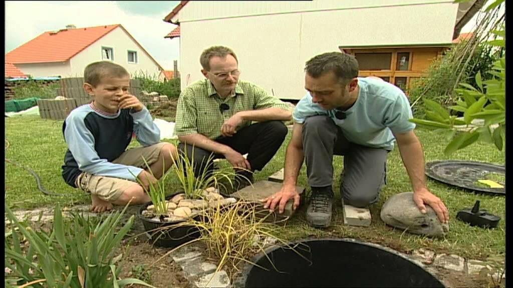 Zierbrunnen & Dekobrunnen (Holz & Stein) im Garten selber bauen