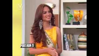 Maira Alexandra Rodriguez Miss Venezuela Tierra 2014 Intervie