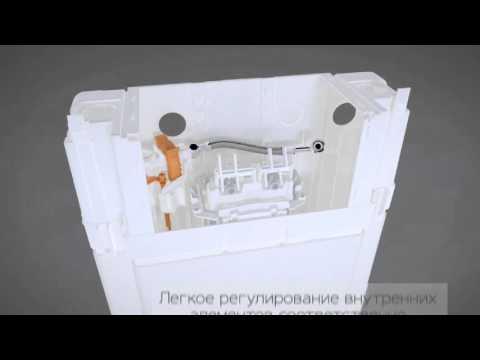 Инсталляция для подвесного унитаза Ifo Technic GT (RP150101000) 2