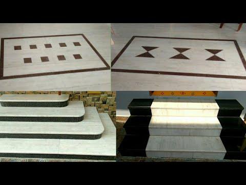 Marble flooring Centre border design