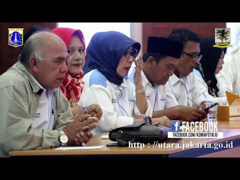 Sekko Jakut Minta Pengurus RT, RW dan LMK Dilindungi BPJS, Senin (4/9).