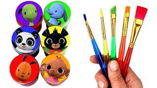 Bing Bunny Drawing & Painting with Surprise Toys Sula Flop Pando Amma Padget Creative Fun For Kids