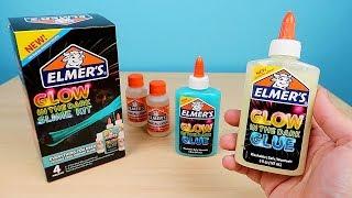 Проверка набора ELMER'S для изготовления светящихся Слаймов! alex boyko