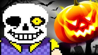 САНС - СОСЕД: ХЕЛЛОУИНСКАЯ ОБНОВА! - Hello Sans: Halloween Nightmare