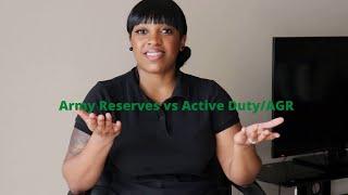 U.S. Army Reserves vs. Active Duty/AGR | Military Talk