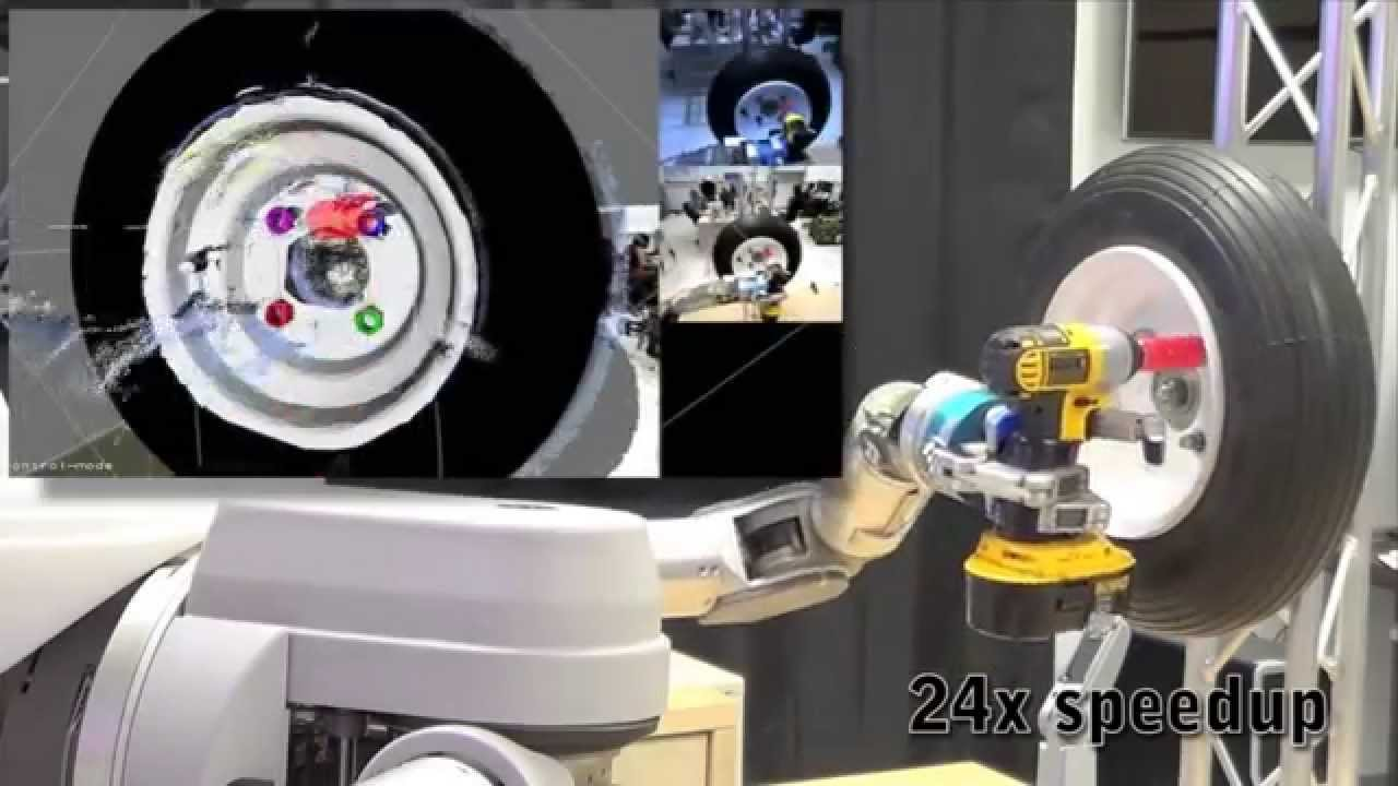Watch DARPA's Robot Arms Perform The World's Slowest Pit Stop