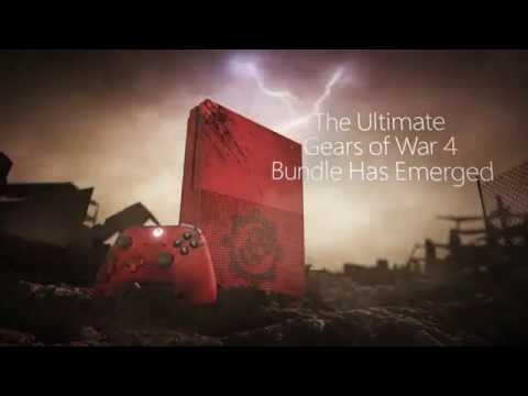 buy 2tb xbox one s gears of war 4 limited edition console. Black Bedroom Furniture Sets. Home Design Ideas