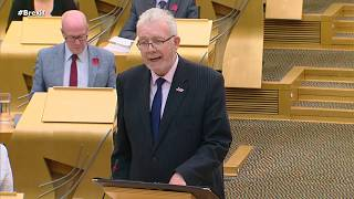 Oct 30 - Scottish Parliament - Impact of New Brexit Deal