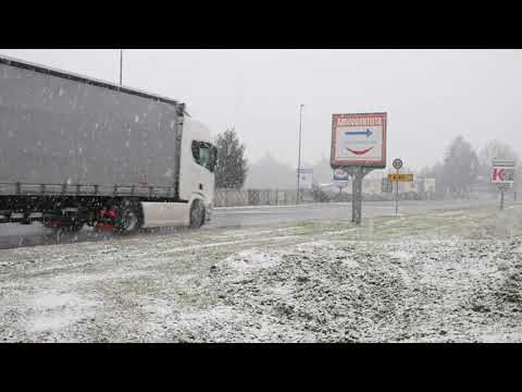 Nevicata nel Saronnese