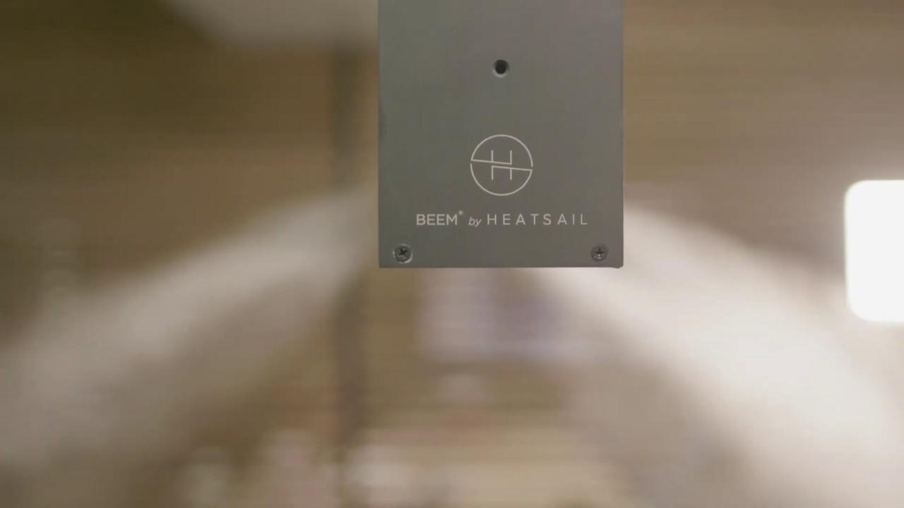 Heatsail BEEM Pendant Light with Heater