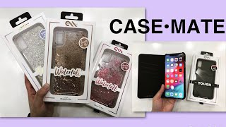CASE•MATE Waterfall, Twinkle, Tough, Folio Cover iPhone Xs MAX | Jen VLOG