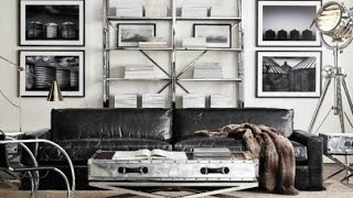Inspiring And Stylish Industrial Living Room Designs