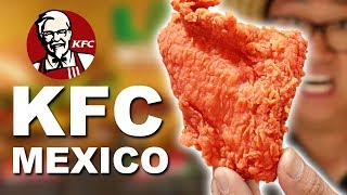 We ate EVERYTHING at KFC in Mexico 🇲🇽