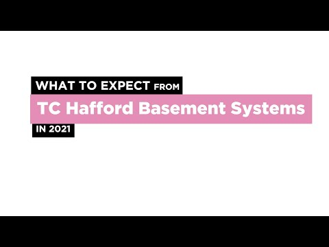 What to Expect from TC Hafford Basement Systems in 2021
