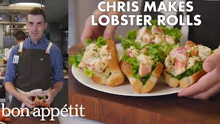 Chris Makes Lobster Rolls From Scratch | From the Test Kitchen | Bon Appétit - dooclip.me