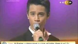 Lagu Anugerah 2007 Aliff Aziz Seribu Tahun